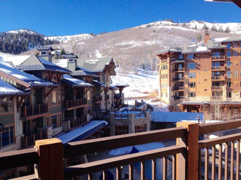 View from Hyatt Escala Lodge at Park City, Utah