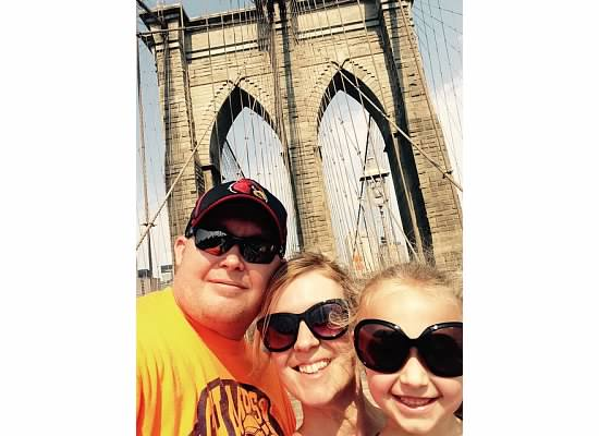 Family travel in NYC...and no, we didn't use a selfie stick!