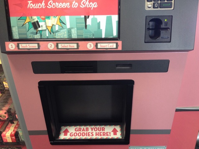 Coolest Vending Machine: Benefit Cosmetics | Looks and Leaps